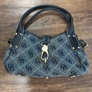 Douney & Burke small black purse